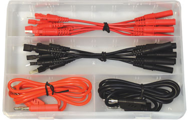 1351 16 Pc. Spade Terminal Test Lead Set