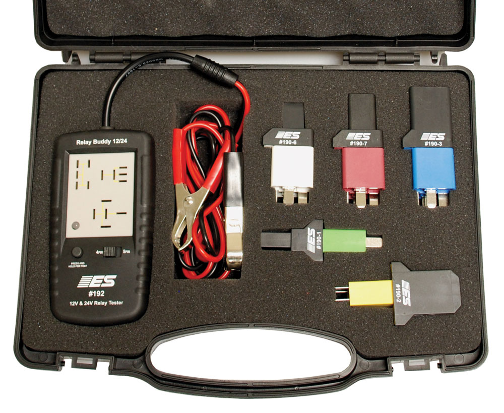 Electronic Specialties Inc Professional Hand Held Automotive Test - How to test 12v 5 pin relay