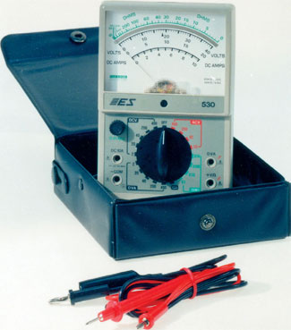 MODEL #530 D.V.A. /PEAK READING MULTIMETER