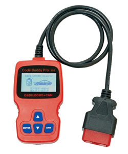 903 Code Buddy PRO - OBDII Code Scanner w/Live Data & Diagnostic Monitors