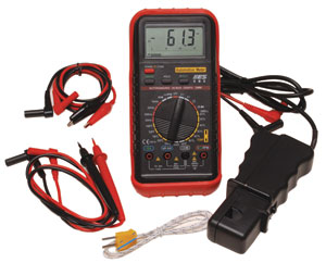 585 DELUXE AUTOMOTIVE METER WITH RPM & TEMPERATURE