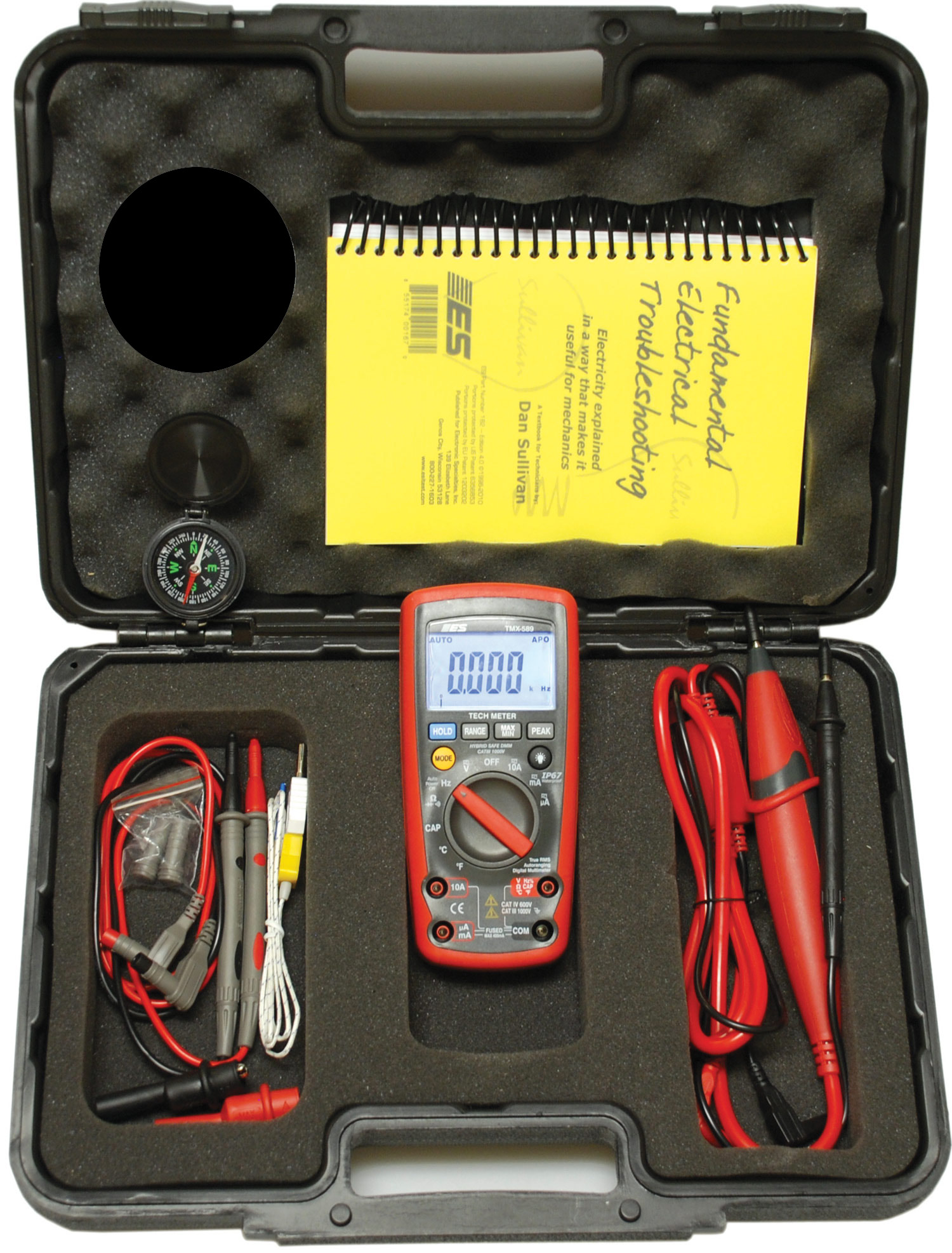Electronic Specialties Inc Professional Hand Held Automotive Test Multimeters Click To Enlarge Kit